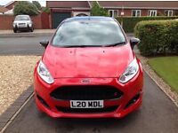 Ford Fiesta Zetec S Red Edition 1.0 Ecoboost Turbo 140ps Low Mileage Eye Catcher