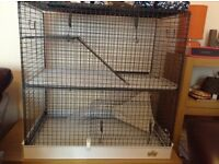 Large cage suitable for small animals. Can be viewed. Only cage in picture is for sale