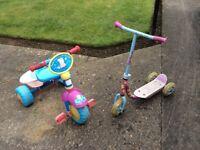 Peppy Pig bike & scooter