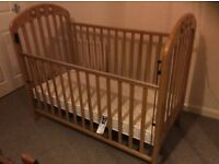 Mamas and papas cot bed !!! Must go ASAP!!!!