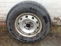 Iveco Daily wheel and tyre