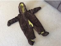 6-9 month mothercare snowsuit