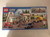Lego City Service Station Rare 60132