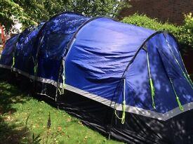 Zenobia 6 berth family tent with integral groundsheet
