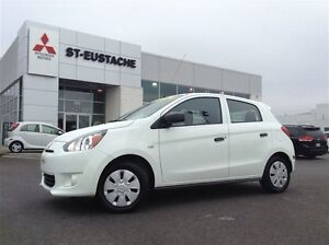2014 Mitsubishi Mirage ES**MANUELLE **ANTI PATINAGE **TRES ECONO