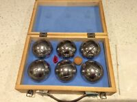 Boules traditional boxed set