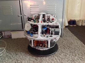 LEGO STAR WARS, DEATH STAR 10188, GREAT CONDITION, INCOMPLETE. BEST OFFERS.