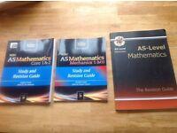 WJEC AS Maths Books x3