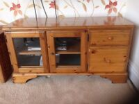 Ducal Antique Pine Solid Wood TV cabinet