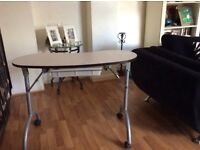 Portable Manicure Table with Drawer