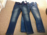 Girls NEXT jeans size aged 5