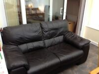 Sofa Leather DFS