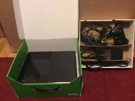 Xbox One with one controller. 500GB