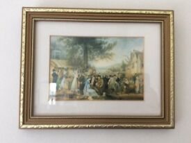 Bristol print 1824 the engagement at st. Jame,s fair by Samuel Coleman