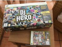 DJ Hero for X Box 360
