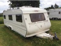 Carlight Continental 235, 23ft, 5/6 berth caravan for sale