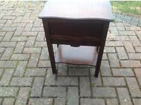 Sewing box table old antique
