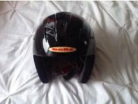 Bolle black ski helmet - never worn.