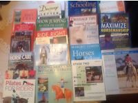 Equestrian books - health/training/dressage/eventing/BHS - large collection - Offers?