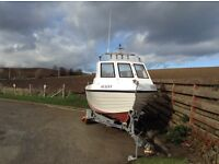£21500ono Warrior 6mtr commercial boat great for pleasure fishing or commercial fishing