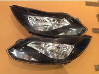 2014 FORD FOCUS PAIR LEFT/RIGHT HEADLIGHTS