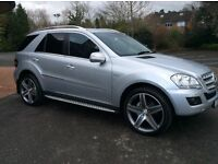 2010 Mercedes Ml 350 Blue eff Sport Full Service History Stunning Condition Only 74k