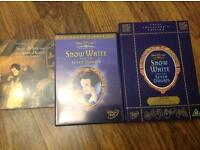 Disney Snow White and the Seven Dwarfs 2 Disc Collectors edition