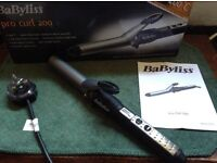 BABYLISS PRO CURL HAIR TONGS