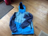O'Neill ski coat jacket large excellent condition waterproof and breathable