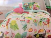 Kas single duvet cover & pillowcase New