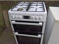 leisure Gas cooker white 60cm...Mint Free delivery