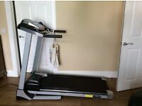Roger black treadmill, used only a few times, like new. Cost over £500 .