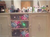 Elegant shappy Chic side board/dressing table