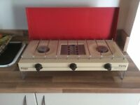 Two Burner Cooker with grill