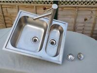 IKEA Boholmen kitchen sink and mixer tap