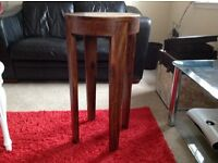 New Solid Wood occasional table/lamp/plant table