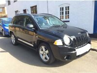 Jeep Compass CRD Limited, Full Leather, Black