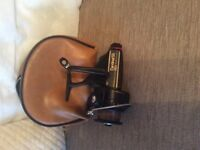 Fishing set, box, chair, 3 x rods 3 x reels , Abu cardinal 55