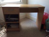 Small Oak Effect Desk