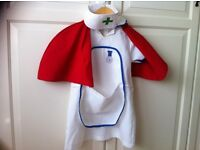Early Learning Centre (ELC) nurse / doctor dress up outfit for girl age 3/4 years