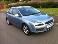 Ford Focus 1.6 ZETEC CLIMATE, 5 Doors Hatchback,FULL FORD SERVICE HISTORY, Low Insurance, 2006