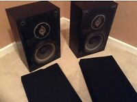 Acoustic research 8ls speakers rare vintage