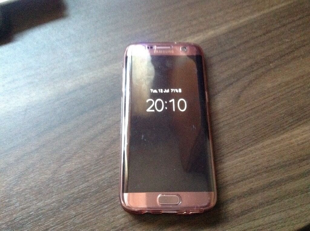 samsung galaxy s7 edge new rose gold in caerleon newport gumtree. Black Bedroom Furniture Sets. Home Design Ideas