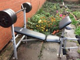 Pro Fitness Multi-Station Weight Bench