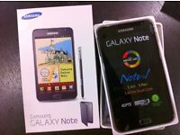 Samsung galaxy note 1 brand new box warranty