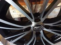 "For Sale Brand New 16""MSW Alloy's By OZ Plus 4 Used Pirelli Tyres"