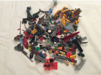 Mixed loose lego