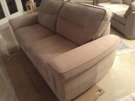 Beige Large 2 seater settee