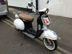 LEXMOTO MILANO 125 EFI EURO 4 COMES FULLY SERVICED 12 MONTHS MOT 6 MONTHS WARRANTY