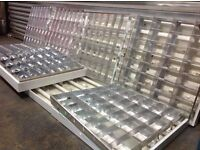 Suspended Ceiling Fluorescent Lights x9 600mm by 600mm